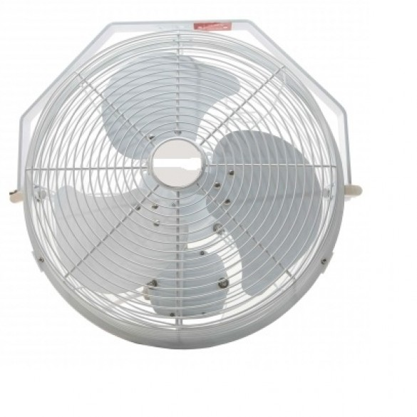 "18"" White Misting Fan Kit"