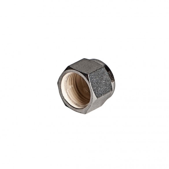 S.S. Compression Nut 3/8""