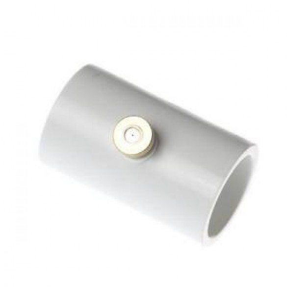 1/2 In. PVC Coupling With Nozzle (5 Piece)
