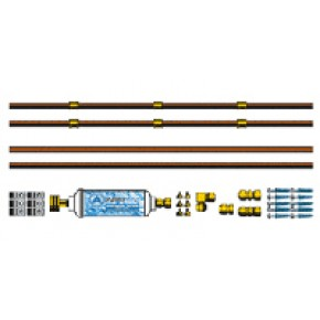 36 FT Copper Professional Misting System