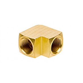 "Brass Elbow 3/8"" NPT"