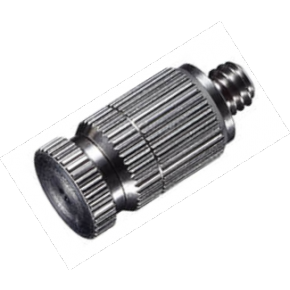 High Pressure Ni Plated Anti Drip Misting Nozzle .012 10/24 Flow .028 GPM