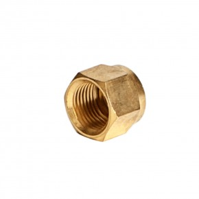 Brass Compression Nut 3/8""