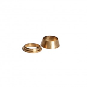 Replacement Brass Ferrule Fittings 3/8""