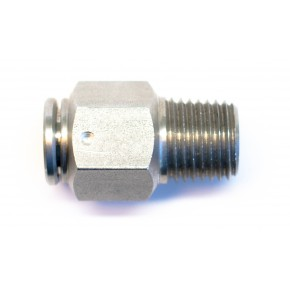 "10 mm Tube x 1/8"" Male Adapter"