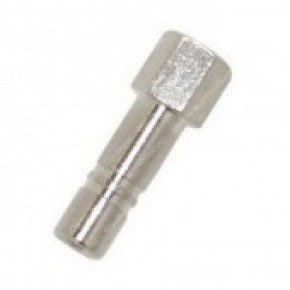 "Nozzle Adapter  1/4"" Stud  x 10/24 Straight"
