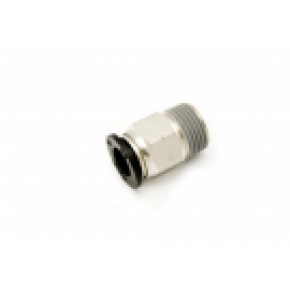 "3/8"" Tube x 1/4"" MNPT Plastic Male Adapter"