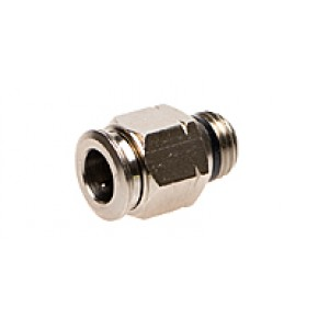 "1/4"" x 3/8"" MNPT Male Connector"