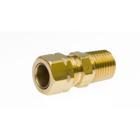 "Brass Male Adapter 3/8"" x 1/4"""