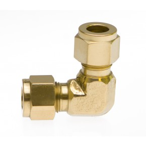 Brass Elbow 1/4""
