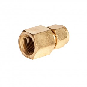 "Brass Female Adapter 1/2"" x 3/8"" FNPT"