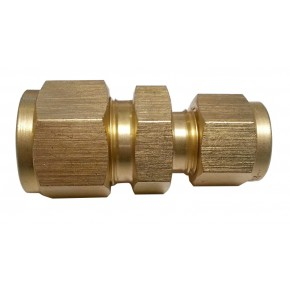 "Brass Reducing Union 3/8"" x 1/4"""