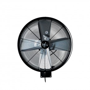 "24"" Oscillating Wall Mount Misting Fan Black"