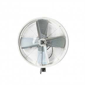 "24"" Oscillating Wall Mount Misting Fan White"