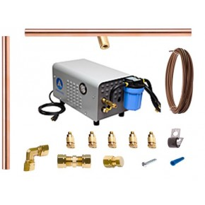 36FT Copper Misting System w/ Enclosed Pump