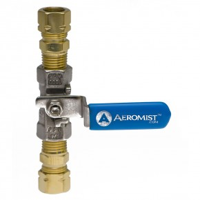 Stainless Steel Ball Valve With Adapters