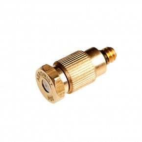 Low Pressure Brass Anti Drip Misting Nozzle .012 x 10/24