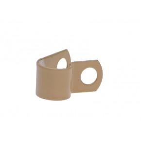 "S.S. Clamp 3/8"" Caramel"