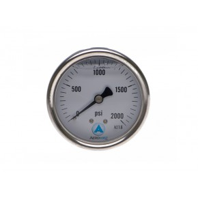 Liquid Filled Gauge 600 PSI CB 1-1/2""