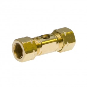 "Brass Nozzle Union 3/8"" (w/o nozzle) 10/24 Thread"