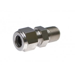 "S.S. Male Adapter 1/2"" x 3/8"""